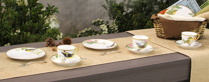 テーブルウェア・フェスティバル2014 大倉陶園展示会場