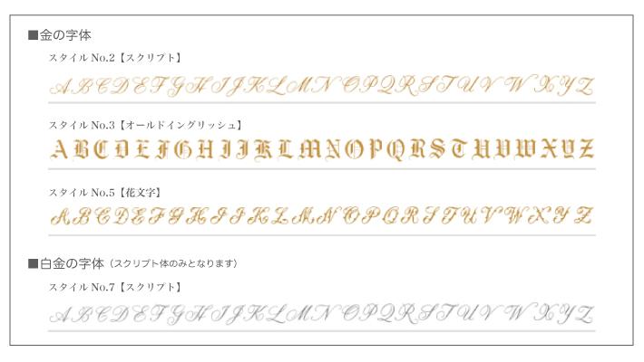 イニシャル字体