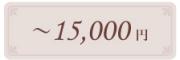 大倉陶園の贈り物 〜15,000円