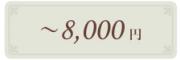 大倉陶園の贈り物 〜8,000円